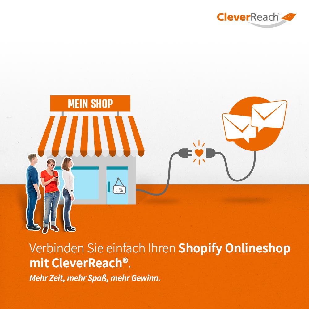 DE_02_CleverReach_shopify_mit Shop verbinden