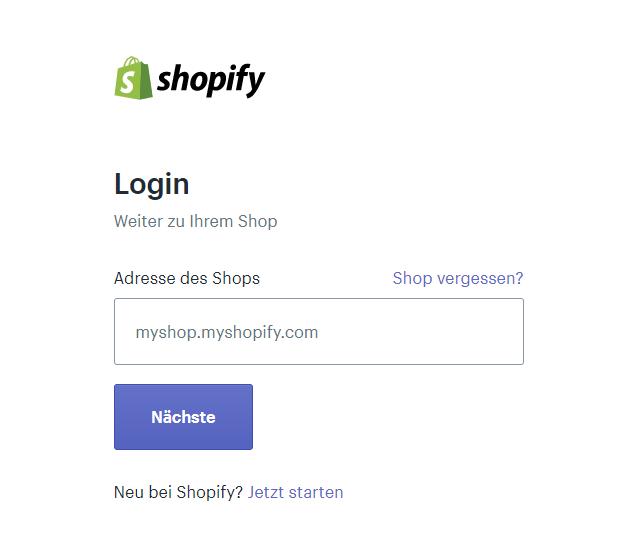 Shopify Login - CleverReach®