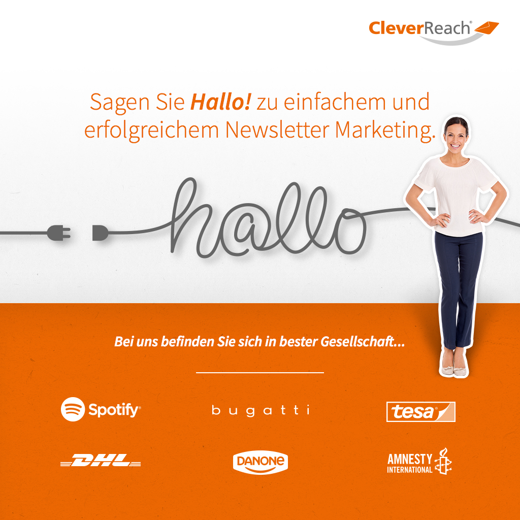 Shopware & CleverReach® verbinden: Sagen Sie Hallo zu einfachem und erfolgreichem Newsletter Marketing