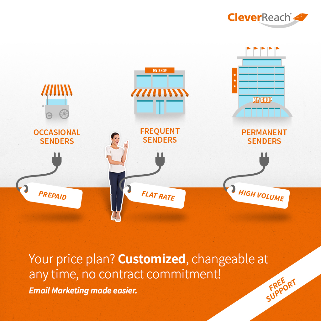 your price plan - customized, changeable at any time, no contract commitment!