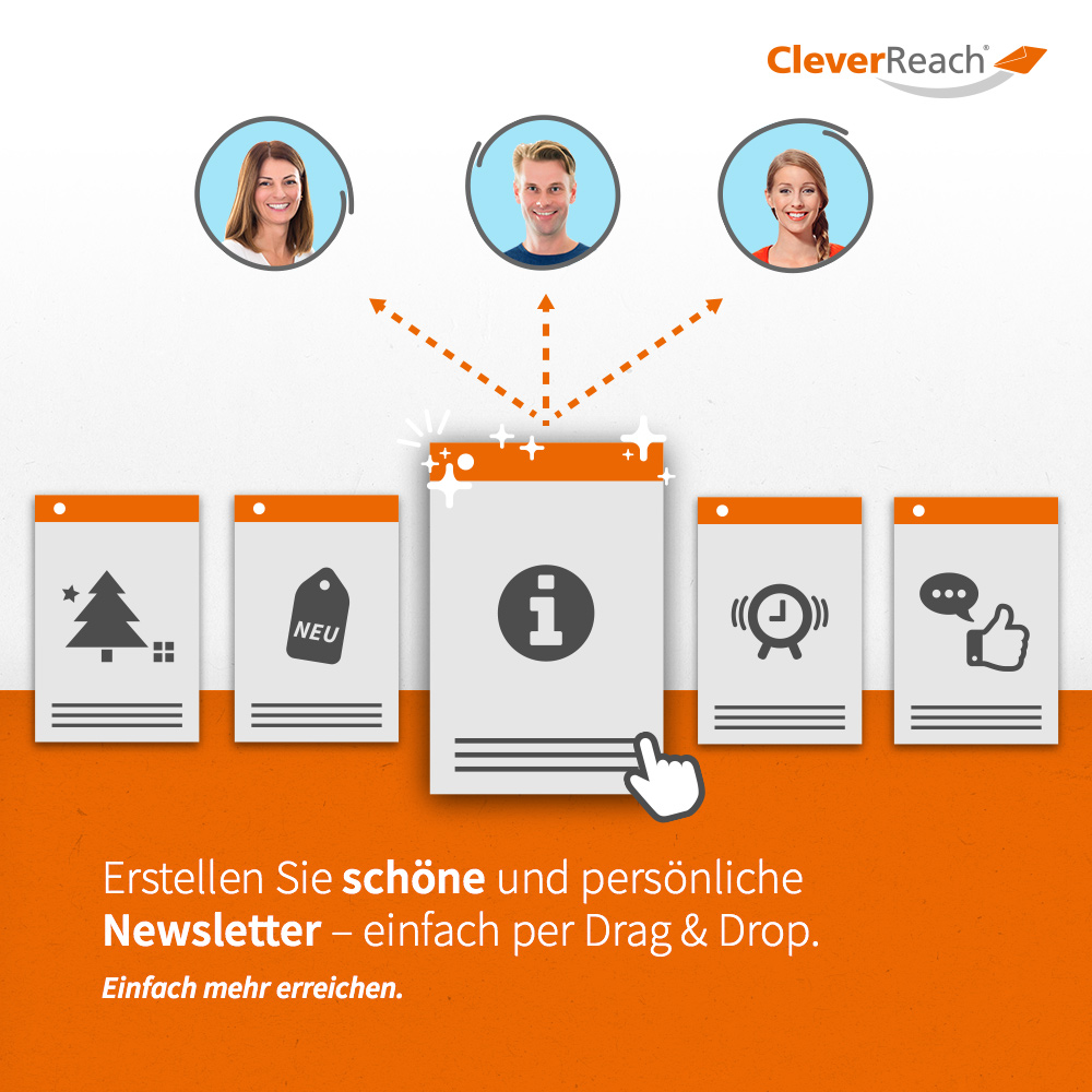 CleverReach® + Salesforce Newsletter erstellen