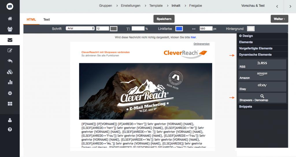 screenshot: shopware produktsuche aktivieren