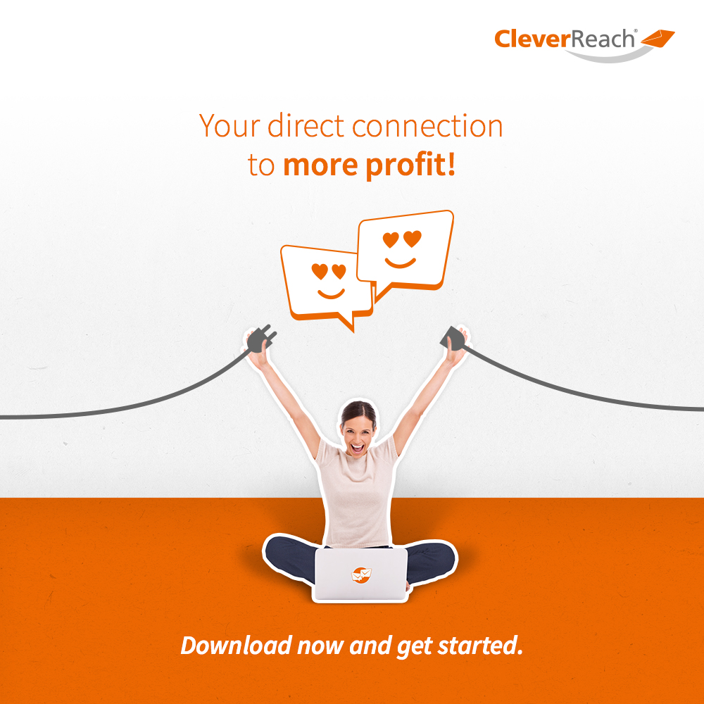 screenshot: connect oxid esales and cleverreach® - your direct connection to more profit