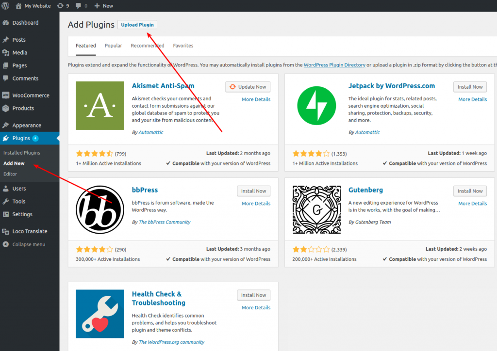 CleverReach®-WooCommerce-upload Plugin-in-Wordpress-