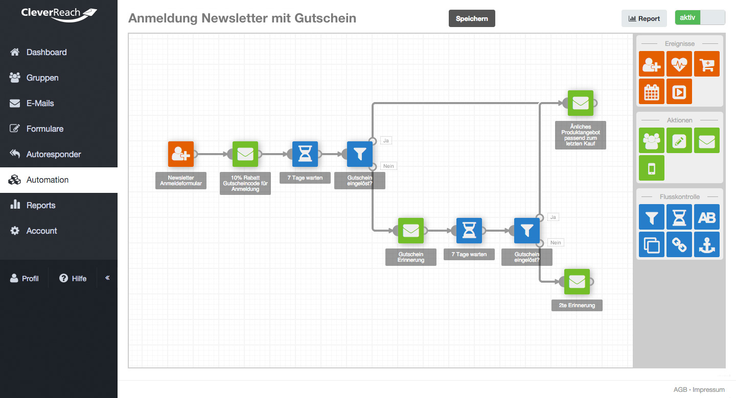 cleverreach erfahrungen e-mail marketing automation
