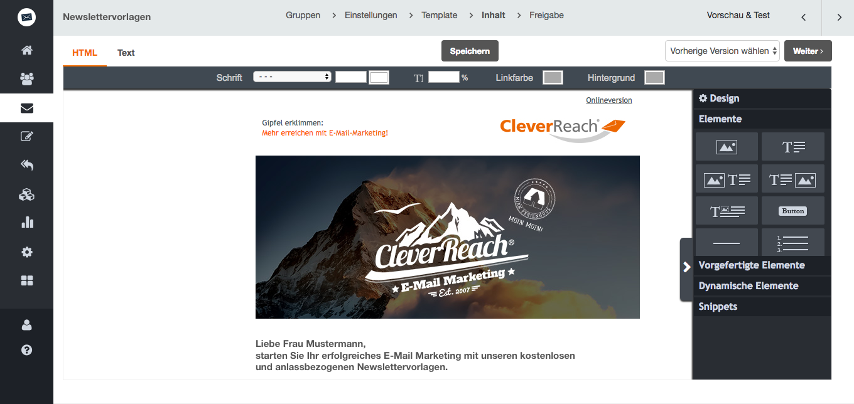 Anlassbezogene Newsletter Templates von CleverReach®