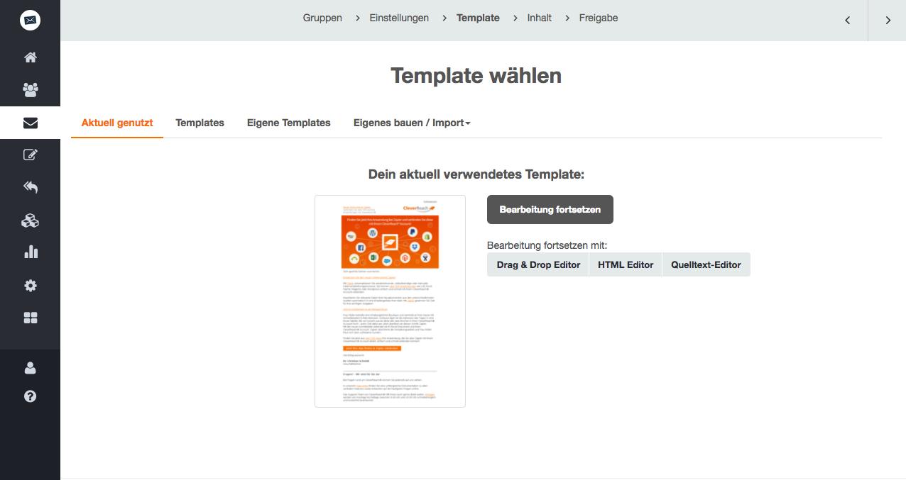 RSS Feeds und dynamische Inhalte in Ihre Newsletter integrieren
