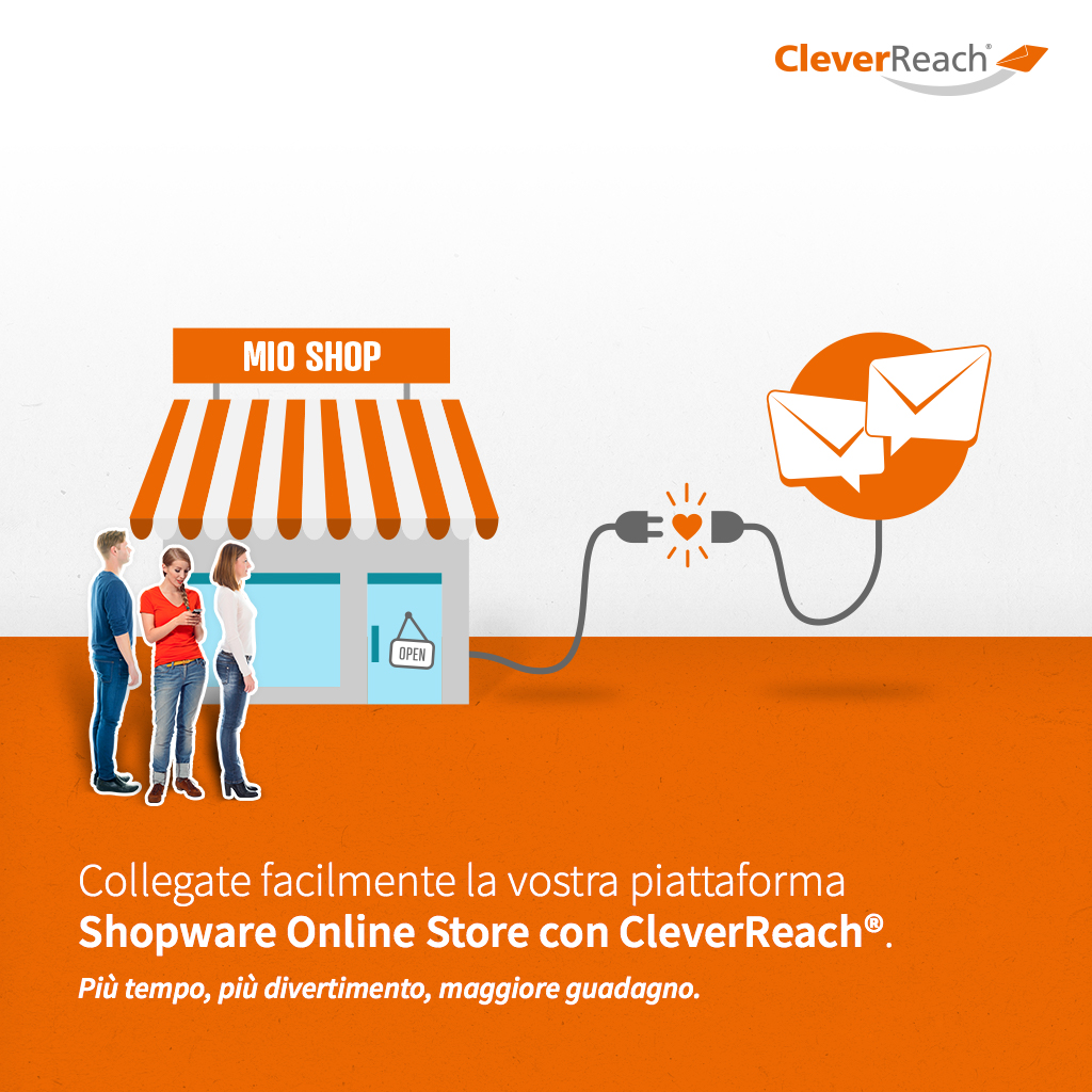 screenshot: connect PrestaShop and cleverreach® - simply connect your Oxid-Shop with CleverReach®