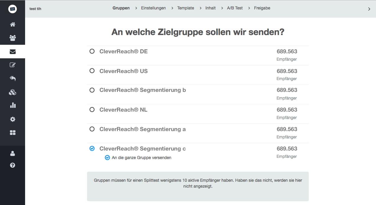 screenshot: A/B-Split-Test selbst durchführen – einfacher als Sie denken