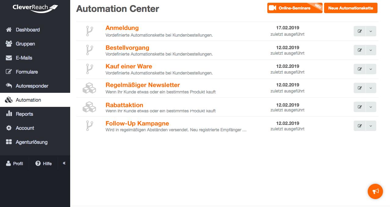 vorteile newsletter automation
