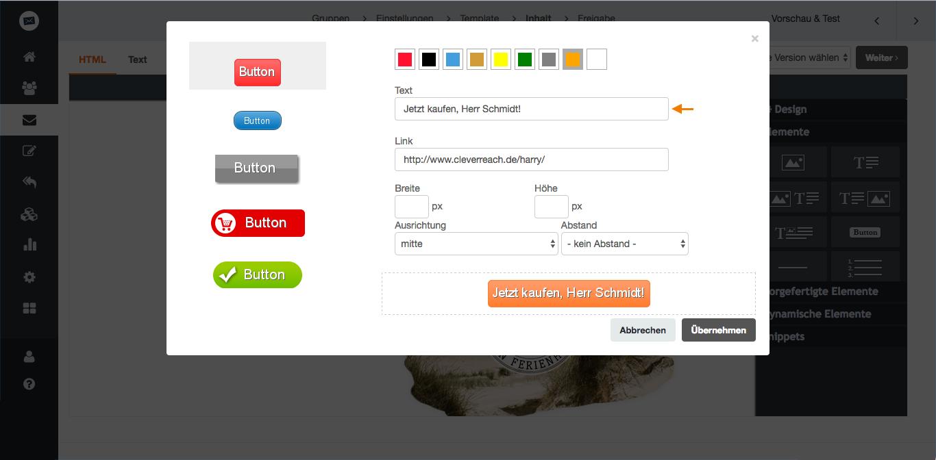 screenshot: Wünsche (er)kennen und gleich erfüllen