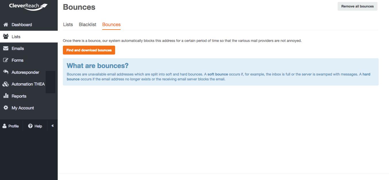 screenshot: How will you notice bounces?