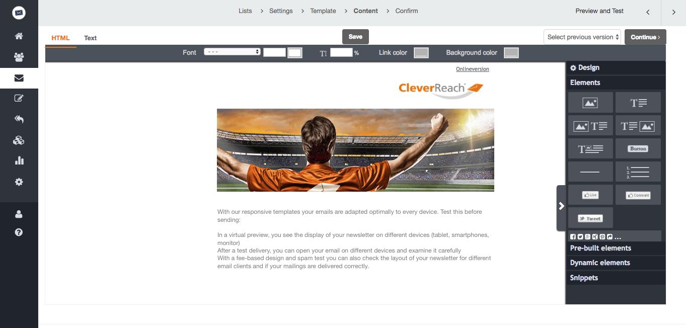 Plantillas de Newsletter gratis - gran selección - CleverReach®