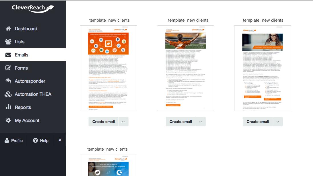 Crear newsletter con el editor de CleverReach®