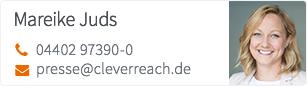 CleverReach® - Pressekontakt Mareike Juds