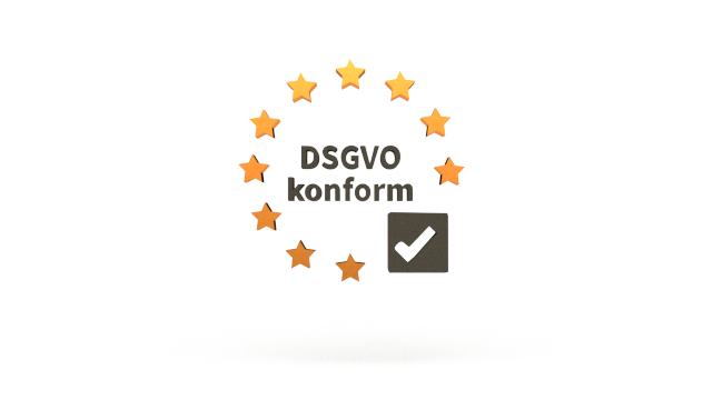 DSGVO 3D-Logo CleverReach