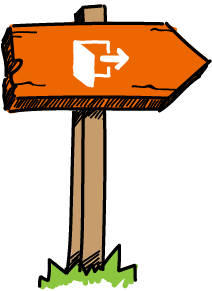 Landingpage DSGVO Illustration Abmeldung