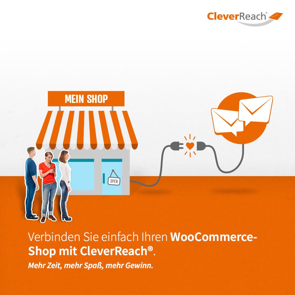 Cleverreach® und WooCommerce Shop mit Newsletter-Tool verbinden