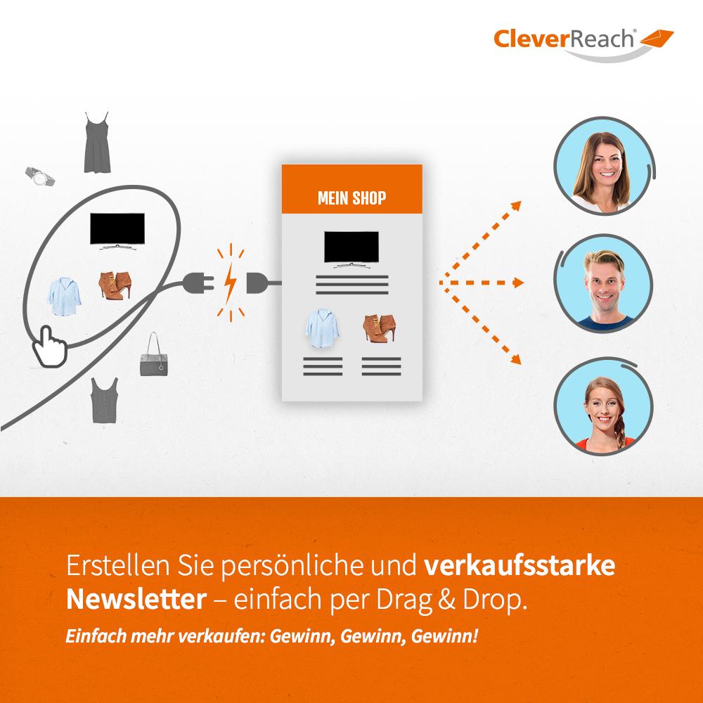 CleverReach® und WooCommerce: persönliche Newsletter erstellen