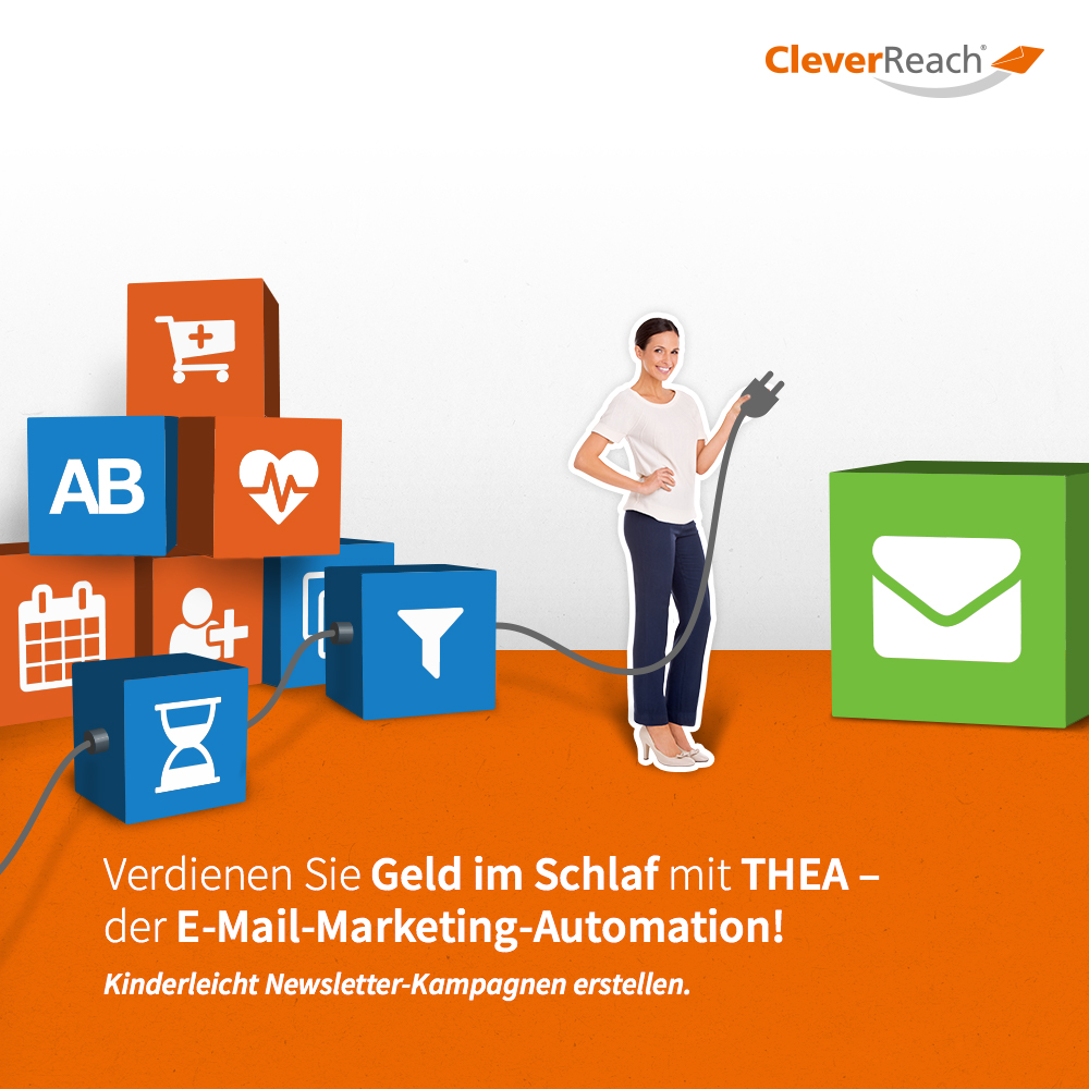 CleverReach und WooCommerce: Mit THEA, der E-Mail Marketing Automation verkaufsstarke Kampagnen erstellen