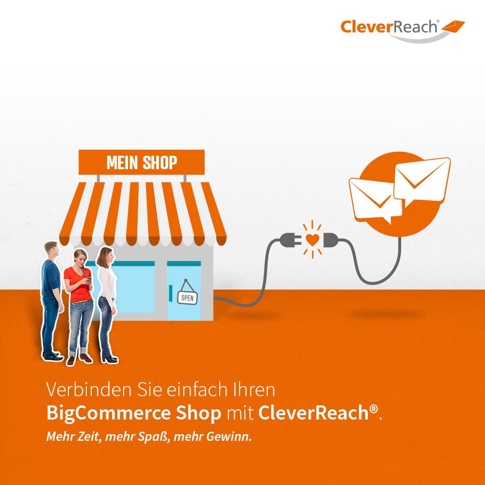 bigcommerce mit cleverreach® verbinden - verinden Sie einfach ihren oxid-shop mit cleverreach®