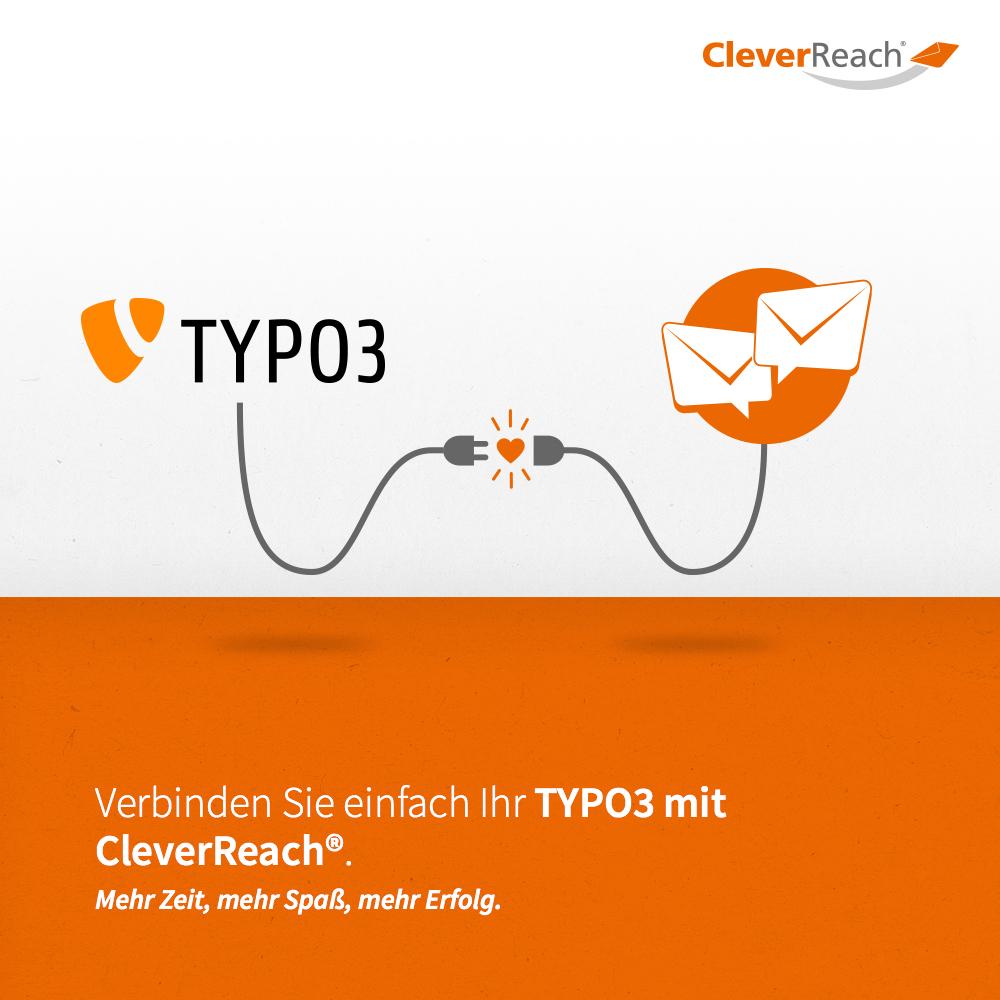 typo3 mit cleverreach® verbinden - verinden Sie einfach ihr backend mit cleverreach®