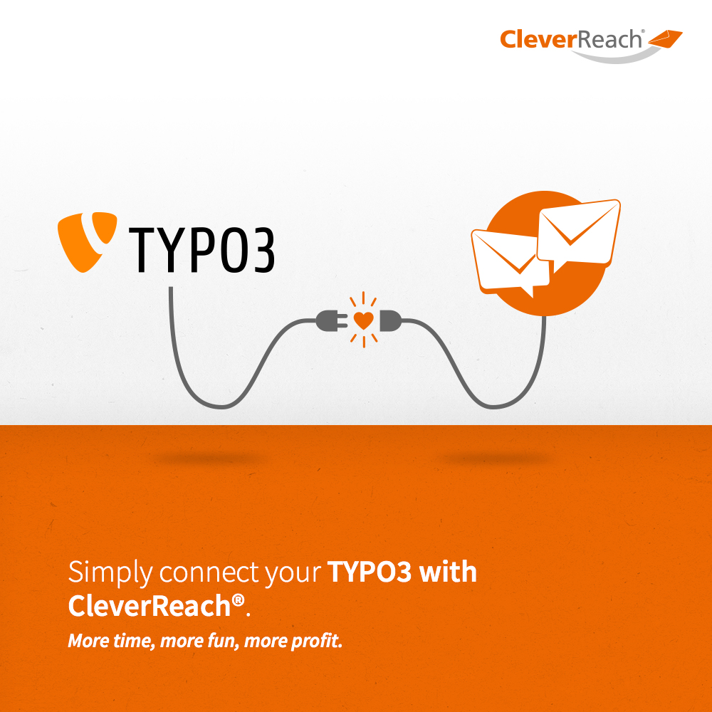 simply connect your typo3 backend with CleverReach®