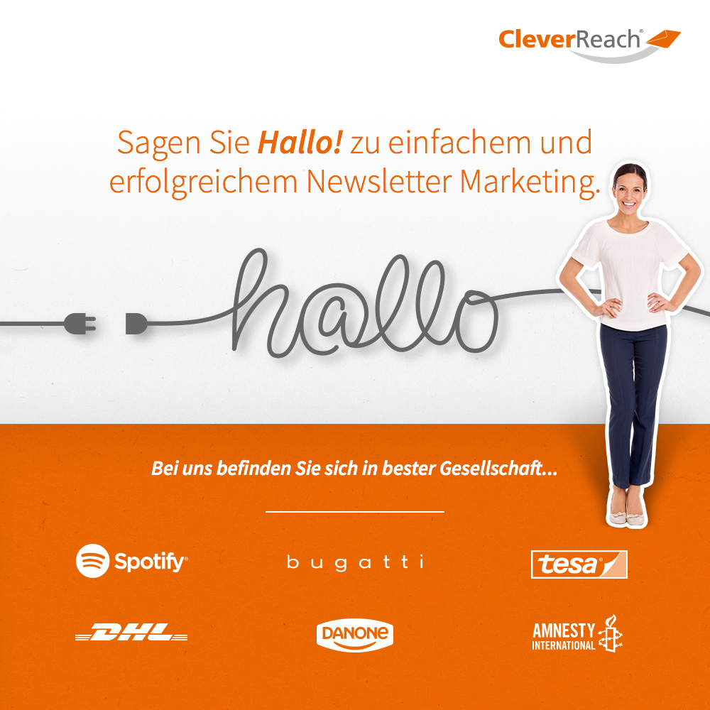 CleverReach® E-Mail Marketing Tool direkt mit Ecwid Online Store verbinden