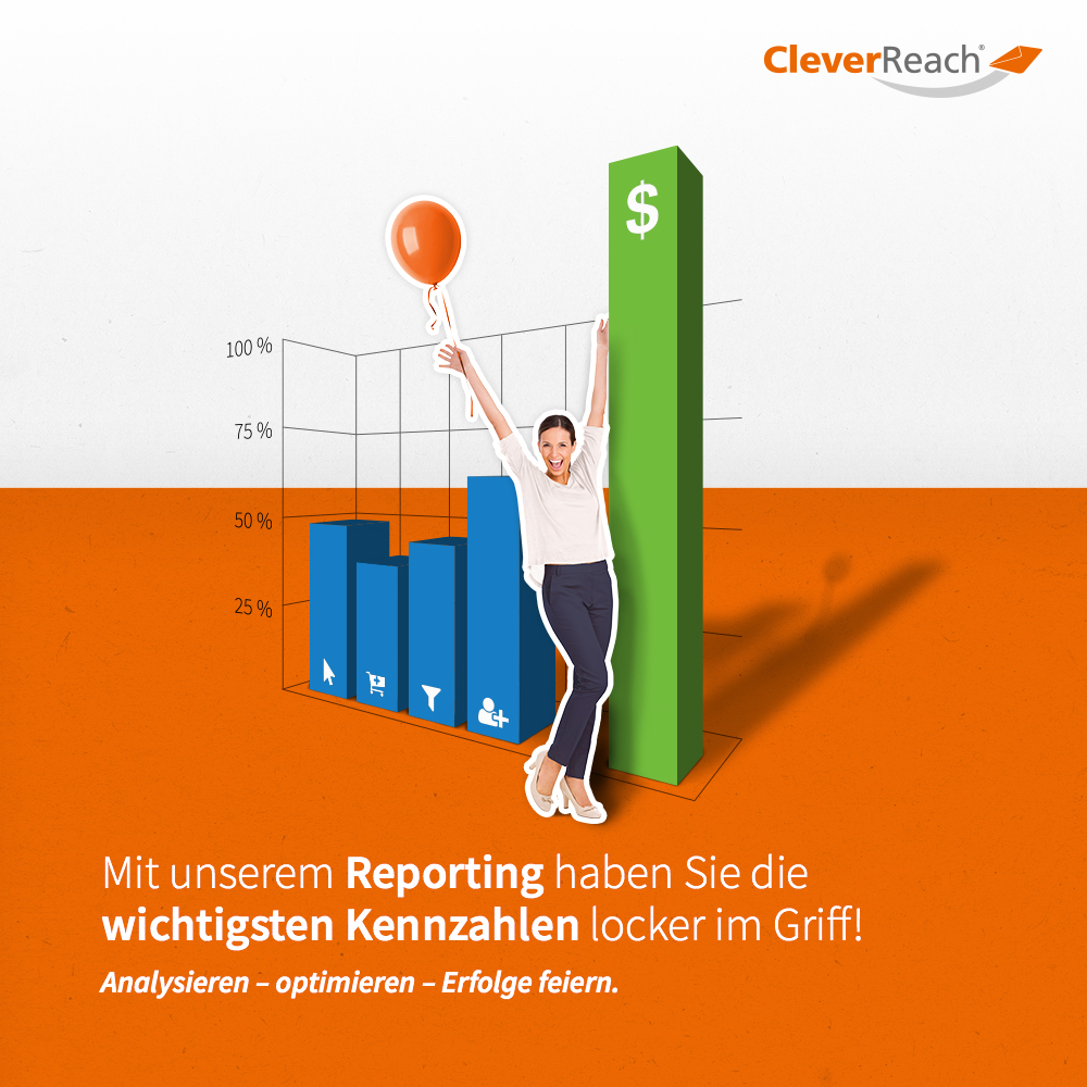 CleverReach® Ecwid umfangreiches Reporting