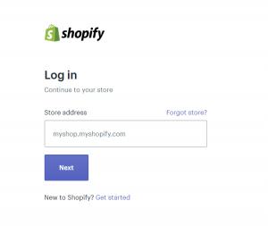 Shopify Login Cleverreach