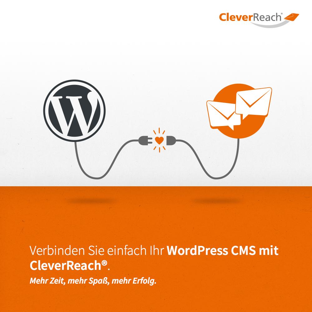 wordpress mit cleverreach® verbinden - verbinden Sie einfach ihr wordpress cms mit cleverreach®