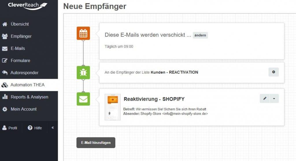 screenshot_cleverreach_thea_automation_reaktivierung