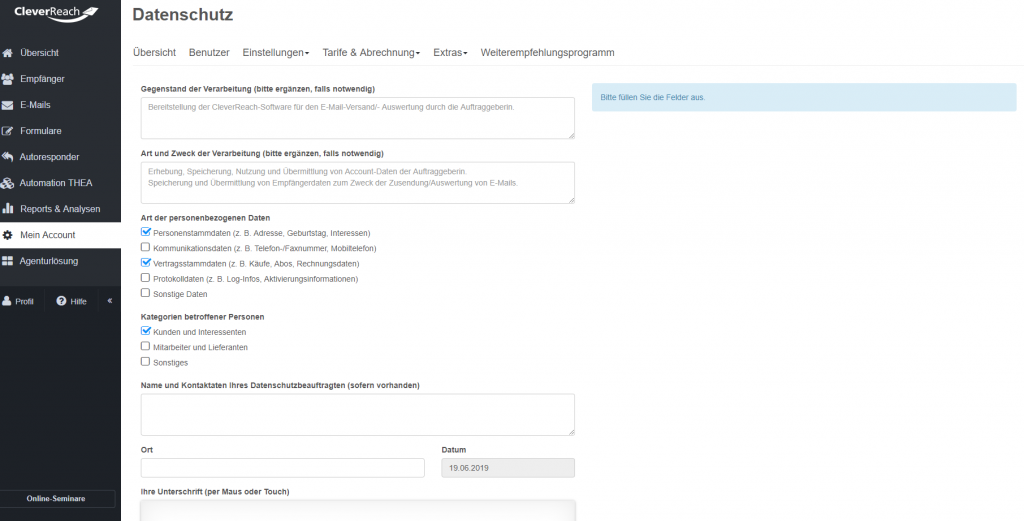 cleverreach_de_datenschutz_auftragsdatenverarbeitung_vertrag_wordpress_dsgvo