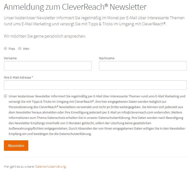 cleverreach_de_dsgvo_anmeldeformular_checkbox