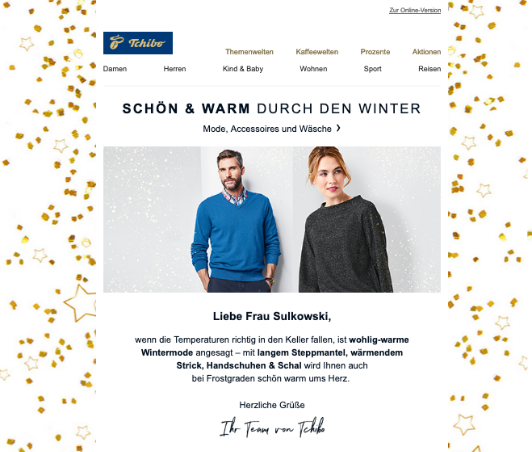 cleverreach_screenshot_tchibo_newsletter_weihnachten_2018