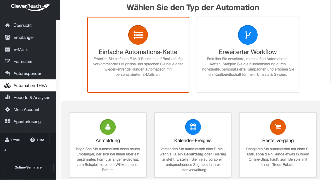 screenshot_cleverreach_funktionen_emailmarketingautomation_einfacher_workflow_01