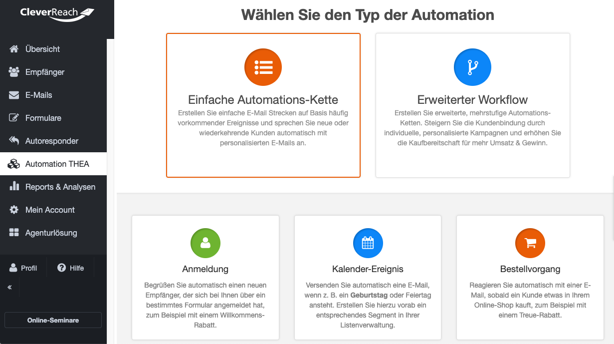 screenshot_cleverreach_funktionen_emailmarketingautomation_einfacher_workflow_004