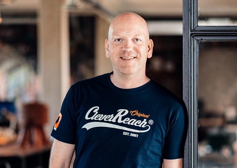 Sebastian Strzelecki, CEO, CleverReach® (Fotocredits: Ronny Walter, www.ronnyfotografiert.de)