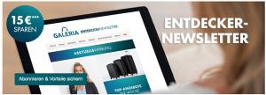 E-Mail Adressgewinnung: Die Versuchungen - Willkommensrabatt Kaufhaus - CleverReach®
