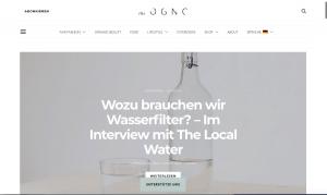 E-Mail Newsletter Adressgewinnung - Blogazine für Nachhaltigkeit - CleverReach®
