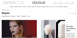 E-Mail Newsletter Adressgewinnung - Magazin Douglas - CleverReach®