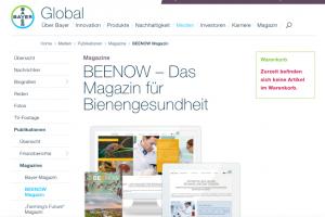 E-Mail Newsletter Adressgewinnung - Corporate Magazin als Kundenbindungstool Bayer - CleverReach®