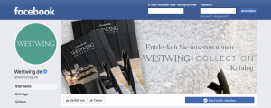 E-Mail Newsletter Marketing: Adressen gewinnen mit Facebook Beispiel Westwing- CleverReach®