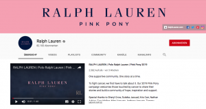 E-Mail Newsletter Marketing: Adressen gewinnen mit YouTube Ralph Lauren 2- CleverReach®image9