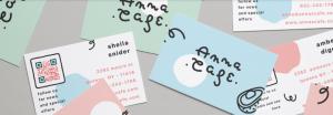 E-Mail Newsletter Marketing: Abonnenten gewinnen offline per QR-Code auf Visitenkarte 2 - CleverReach®