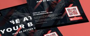 E-Mail Newsletter Marketing: Abonnenten gewinnen offline mit Hilfe von QR-Code auf Flyer - CleverReach®