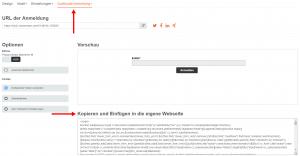 E-Mail Newsletter Marketing: Abonnenten gewinnen offline mit Anmeldeformular zur Nutzung auf Tablet - CleverReach®