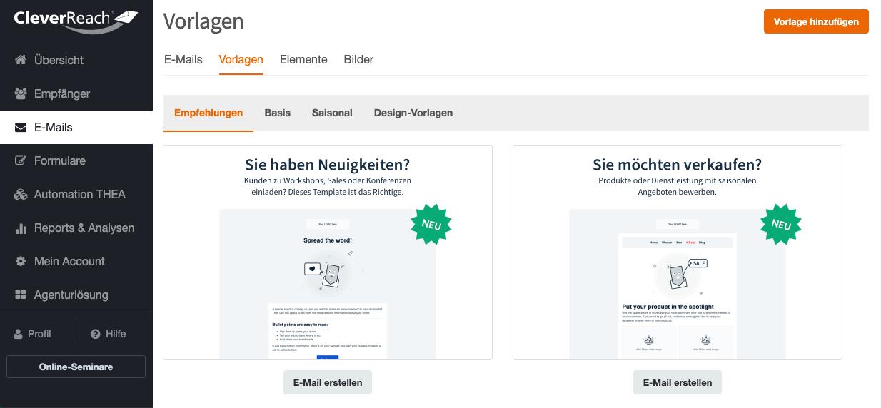 screenschot_cleverreach_kostenlose_newsletter_vorlagen_01