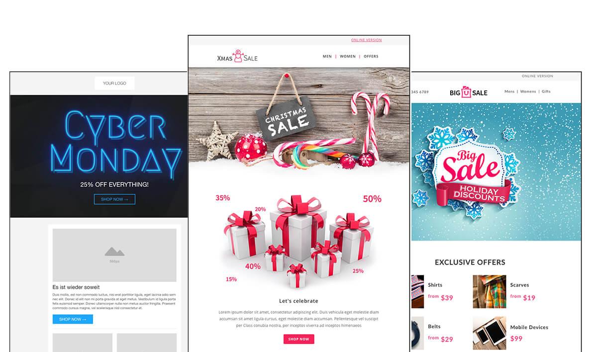 cleverreachkostenlose_anlassbezogene_vorlagen_Newsletter_Weihnachts-templates_neu