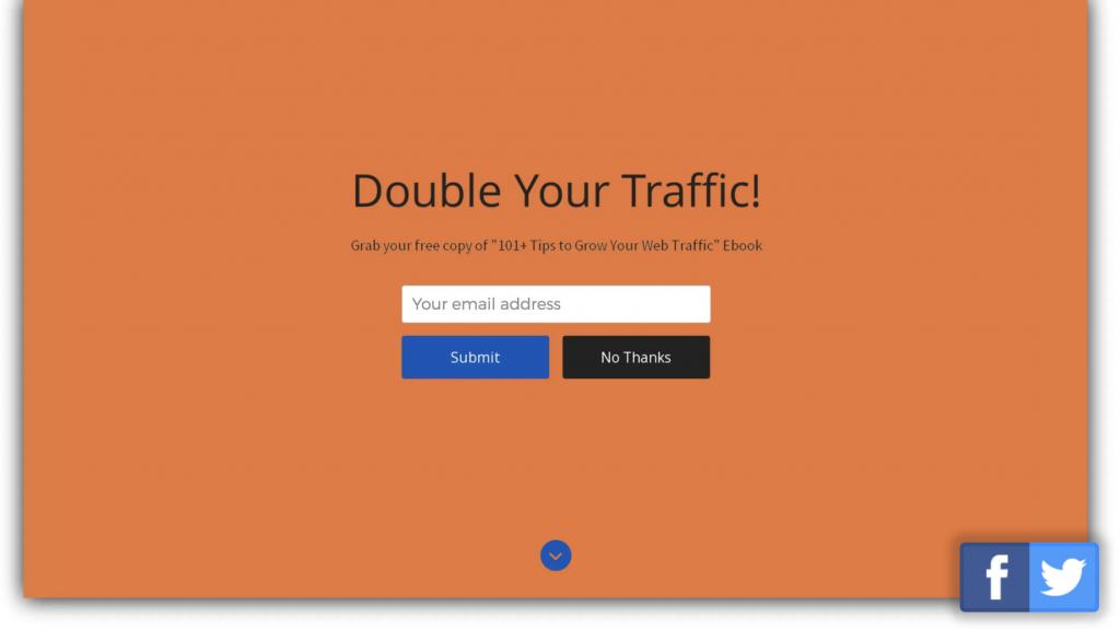 Welcome Mat - Adressgewinnung E-Mail Marketing - CleverReach®